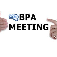 BPA Meeting