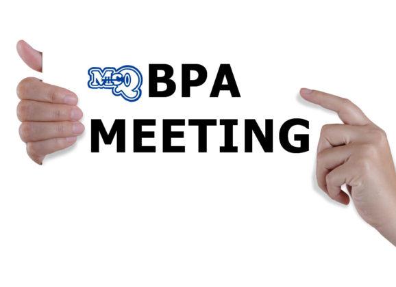 BPA Meeting February 1st 2017