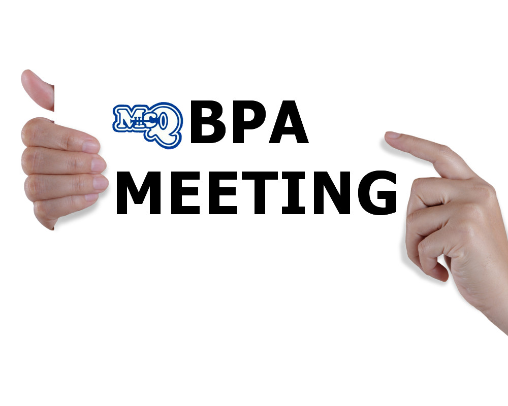 BPA Meeting 11/2 at 7:00pm